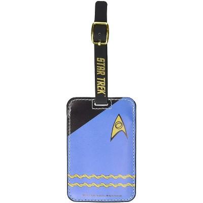 Crowded Coop, LLC Star Trek Blue Uniform Luggage Tag