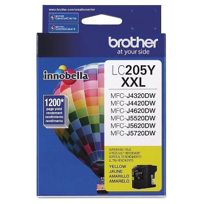 Brother LC205Y Innobella Super High-Yield Single Ink Cartridge - Yellow (BRTLC205Y)