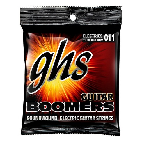 GHS GBM Boomers Medium Electric Guitar Strings - image 1 of 2