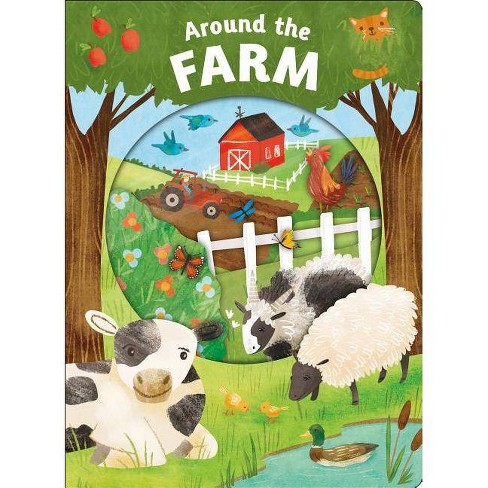 Look Closer: Around the Farm - by  Roger Priddy (Board_book) - image 1 of 1