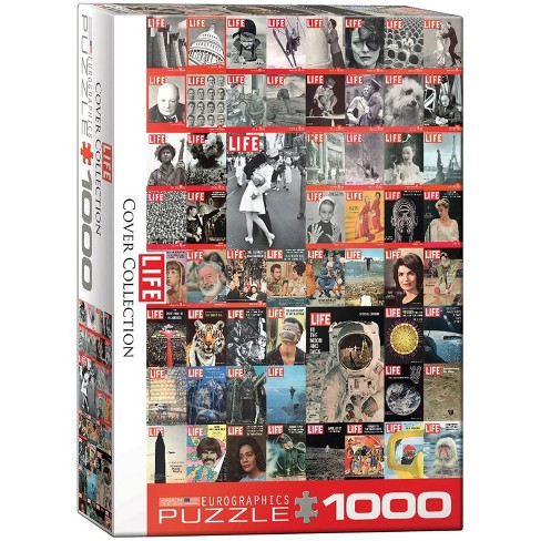 Eurographics Inc. The LIFE Cover Collection 1000 Piece Jigsaw Puzzle - image 1 of 4