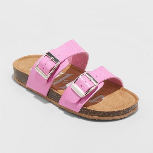 53eac1ab1175fb Girls  Mad Love Scarlett Footbed Sandals   Target