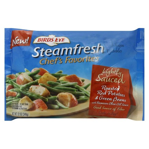 Birds Eye Steamfresh Frozen Chef's Favorites Lightly Sauced Roasted Red Potatoes & Green Beans - 12oz - image 1 of 1