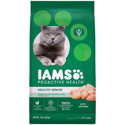 Iams ProActive Health Healthy Senior Dry Cat Food - 7lbs - image 1 of 4