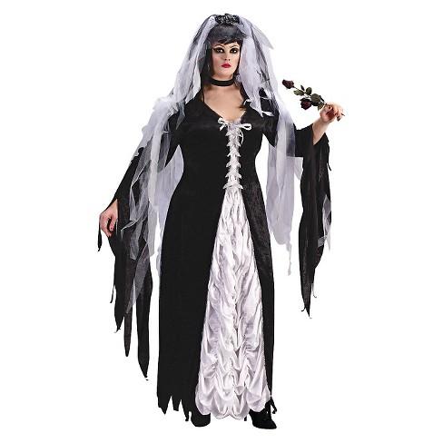 Women s Bride Of Darkness Costume Plus - Large   Target f0098c095e