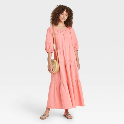 Women's Tiered Dress - Universal Thread™