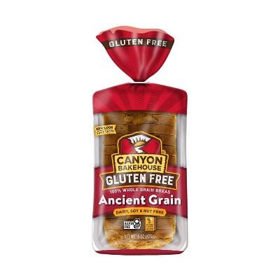 Canyon Bakehouse Gluten Free 100% Whole Wheat Ancient Grain Bread - 15oz