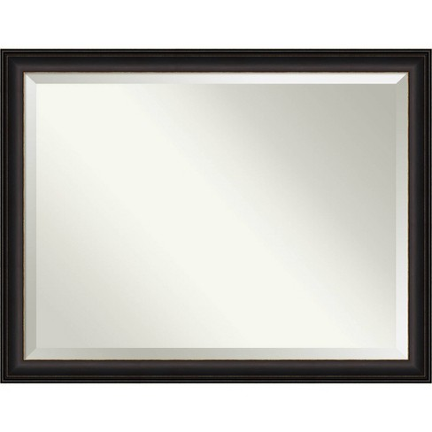 44 X 34 Trio Oil Rubbed Framed Bathroom Vanity Wall Mirror Bronze Amanti Art Target