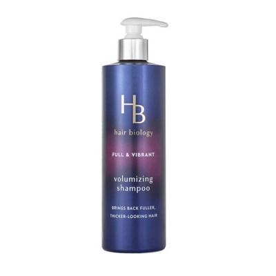 Hair Biology - Volumizing Shampoo with Biotin - Full and Vibrant for fine or thin hair - 12.8 fl oz
