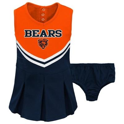 NFL Chicago Bears Toddler Girls' Cheer Set
