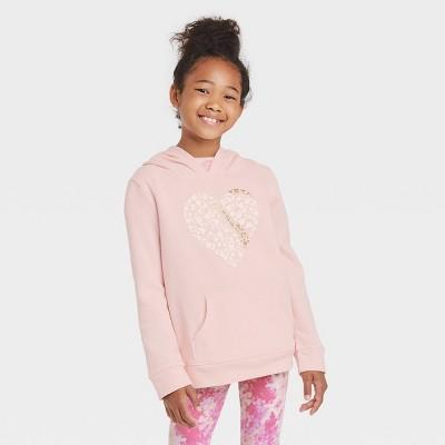 Girls' Printed Pullover Hoodie - Cat & Jack™