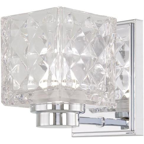 "Minka Lavery 4791-L Glorietta Single Light 4-1/2"" Wide Integrated LED Bathroom Sconce - image 1 of 1"