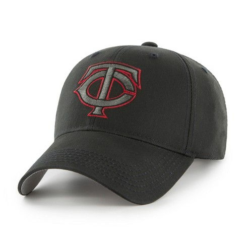 MLB Minnesota Twins Classic Black Adjustable Cap Hat By Fan Favorite ... 771c7e65ff0