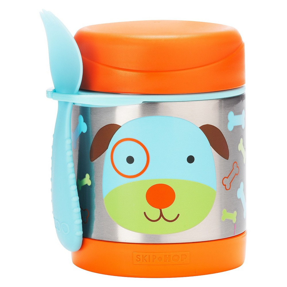 Image of Skip Hop Zoo Little Kids & Toddler Insulated Stainless Food Jar & Utensil - Dog