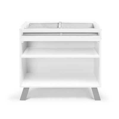 Suite Bebe Livia Changing Table - White/Gray