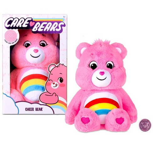 Care Bears Basic Medium Plush - Cheer Bear - image 1 of 4