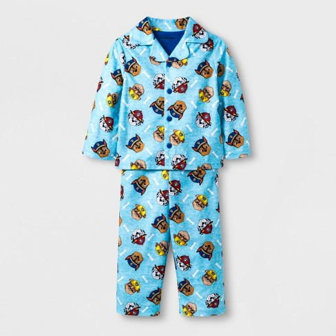 e1d8bf07f Toddler Boys  PAW Patrol 2pc Coat Pajama Set - Blue 2T   Target