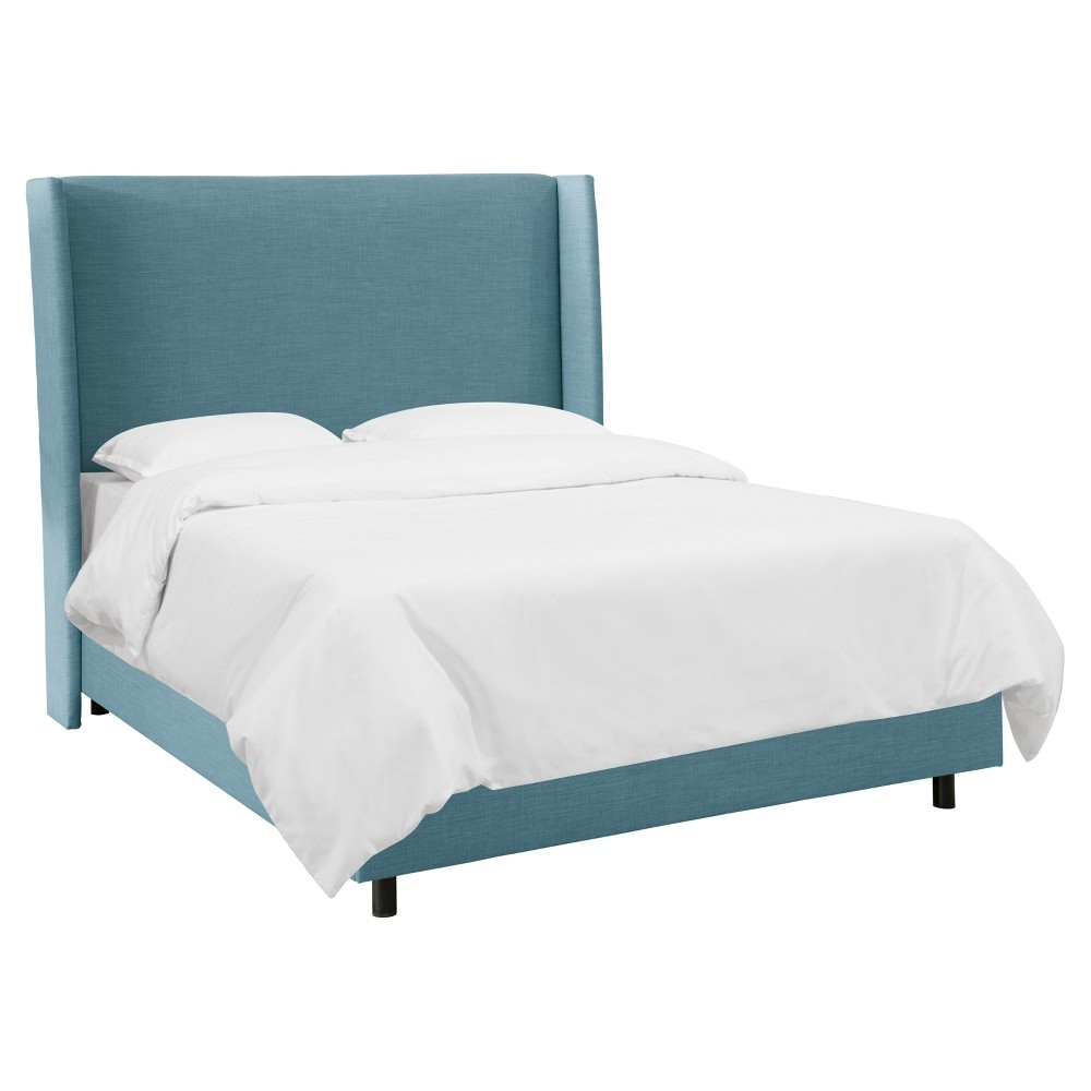 King Antwerp Upholstered Wingback Bed Mumford Capri - Project 62