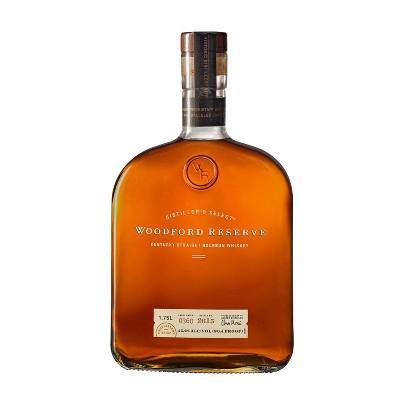 Woodford Reserve Straight Bourbon Whiskey - 1.75L Bottle