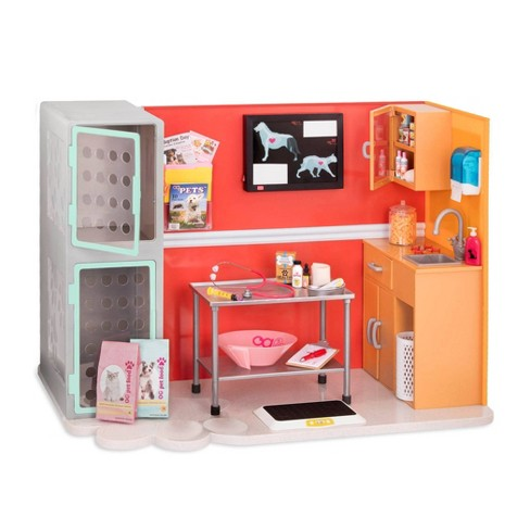 """Our Generation Healthy Paws Vet Clinic Playset for 18"""" Dolls - image 1 of 4"""