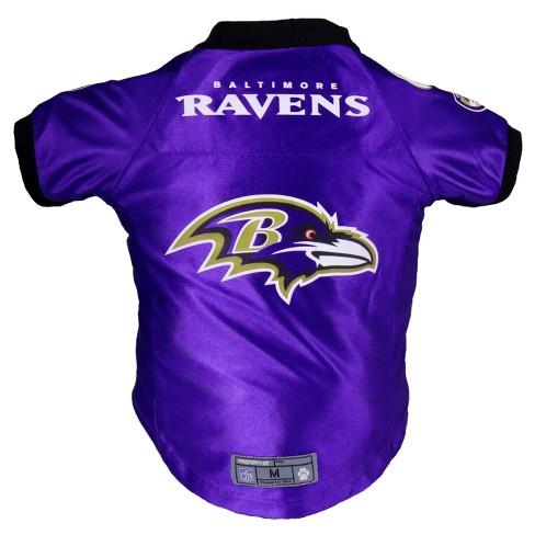1c5e236e6 Baltimore Ravens Little Earth Pet Premium Football Jersey - Purple ...