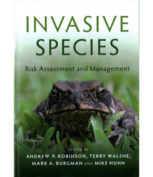 Invasive Species : Risk Assessment and Management (Hardcover) - image 1 of 1