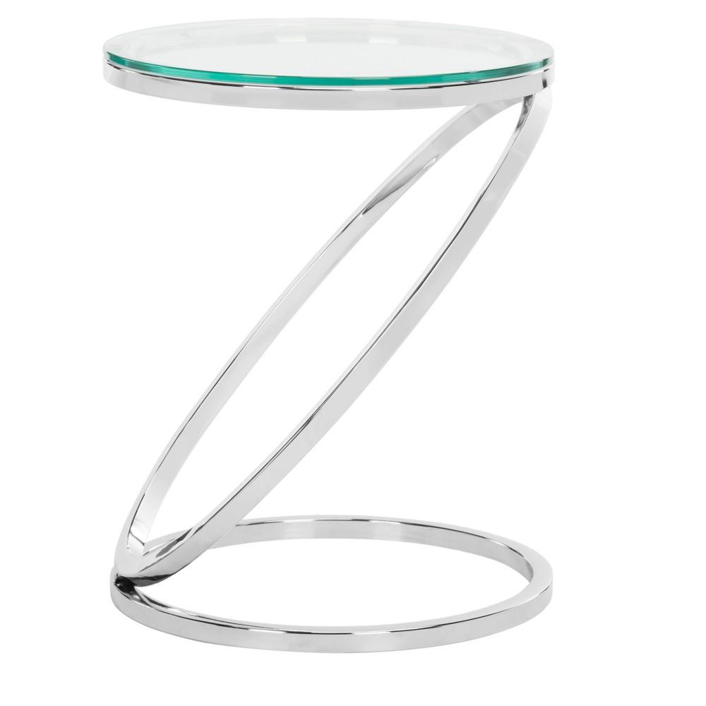 End Table Chrome (Grey) - Safavieh