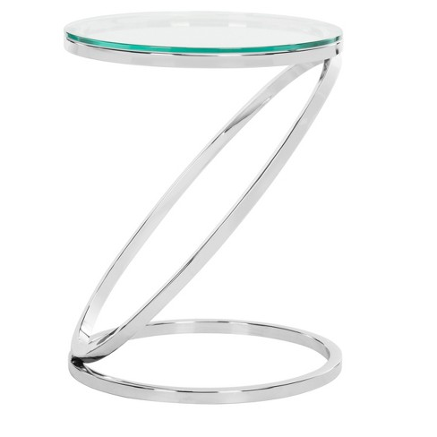 End Table Chrome - Safavieh - image 1 of 5
