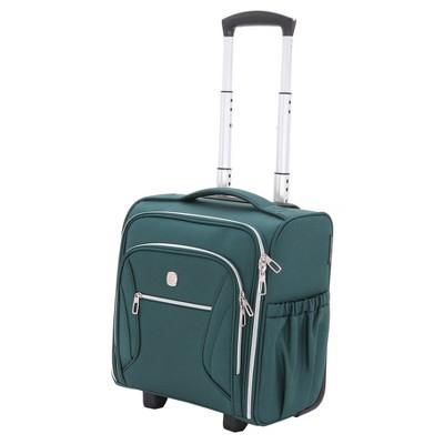 SwissGear Checklite Carry On Underseat Suitcase - June Bug Green