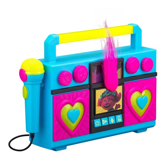 Trolls World Tour Sing-Along Boombox image number null