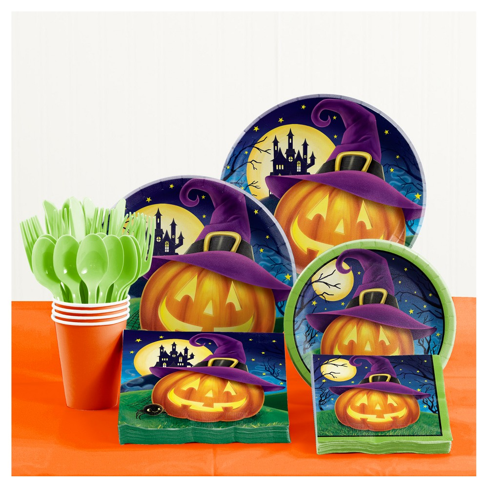 October Eve Halloween Party Supplies Kit, Multi-Colored