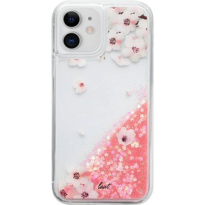 LAUT Apple iPhone 12 Mini Liquid Glitter Phone Case - Sakura