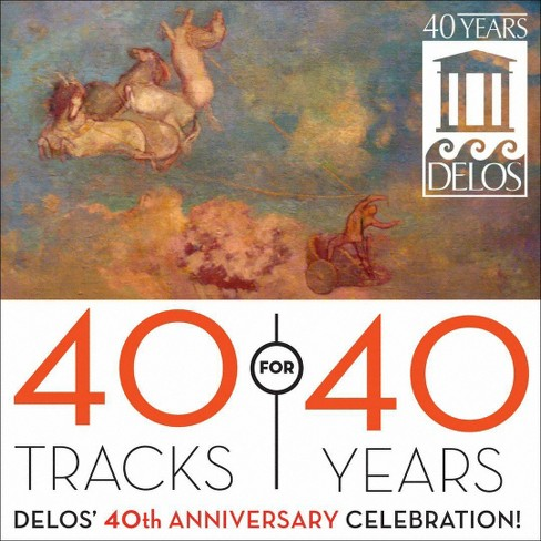 New jersey symphony - 40 tracks for 40 years (CD) - image 1 of 1