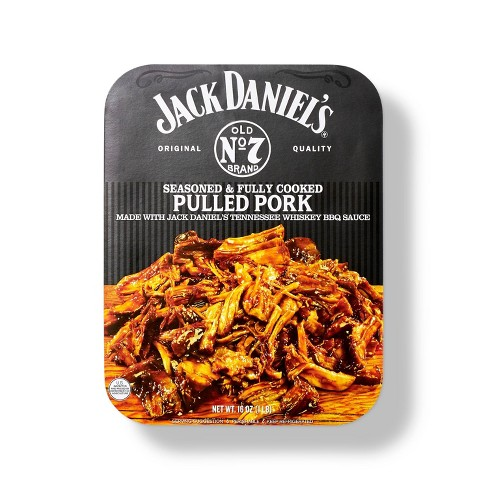 Jack Daniel's Seasoned And Cooked Pulled Pork - 16oz - image 1 of 4