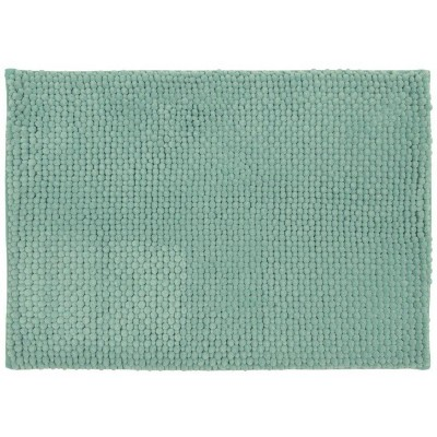 "20""x34"" Low Chenille Memory Foam Bath Rug Green - Threshold™"