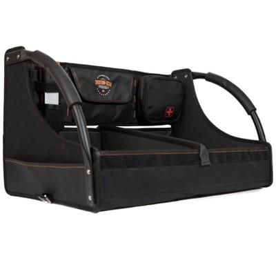 XG Cargo XG-306 Lightweight Universal Fit Fold Flat Vehicle Interior Accessory Gear Box, Black