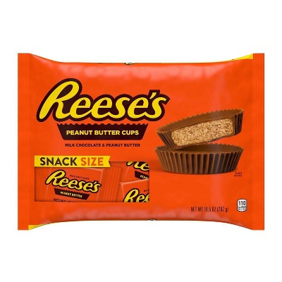 Reese's Peanut Butter Cups Snack Size - 10.5oz