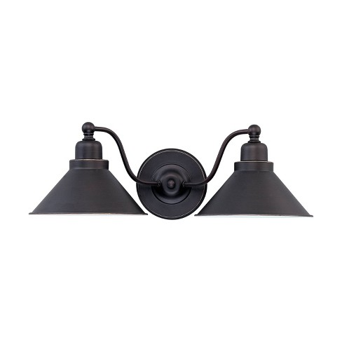 Wall Lights Sconce Mission Dust Bronze - Aurora Lighting - image 1 of 3