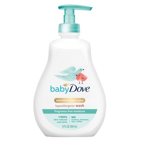 Baby Dove Sensitive Moisture Tip-to-Toe Fragrance-Free Wash - 13 fl oz - image 1 of 4