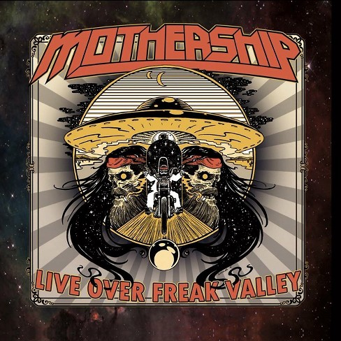 Mothership - Live over freak valley (CD) - image 1 of 1