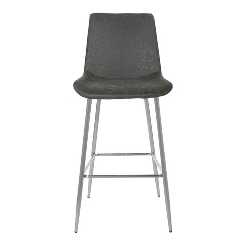 "2pc 30"" Theo Bar Stool Black - OSP Home Furnishings - image 1 of 2"