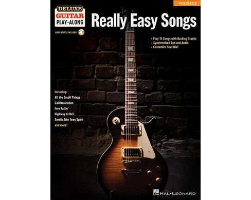 Really Easy Songs Deluxe Guitar Play Along Book Target