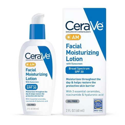 CeraVe AM Facial Moisturizing Lotion with Sunscreen - SPF 30 - image 1 of 4