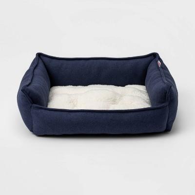 Rectangular Hi Wall Cuddler Dog Bed - S - Boots & Barkley™