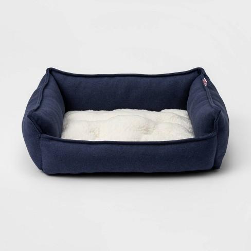 Rectangular Hi Wall Cuddler Dog Bed - S - Boots & Barkley™ - image 1 of 3