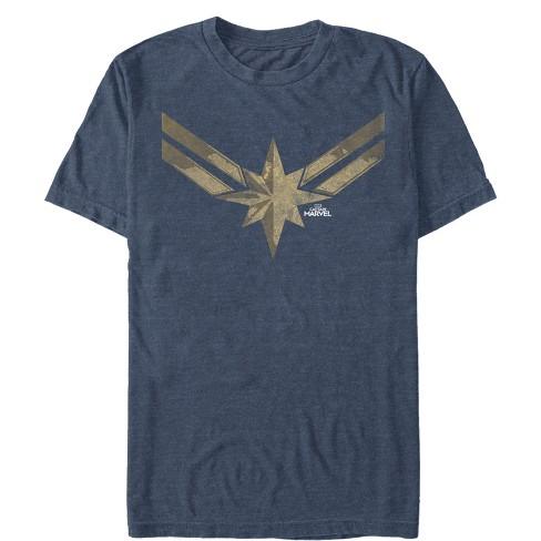 Men's Marvel Captain Marvel Vintage Star Costume T-Shirt - image 1 of 1