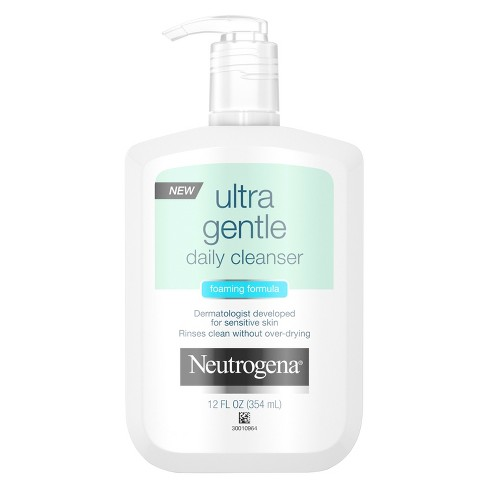 Neutrogena Ultra Gentle Daily Foaming Facial Cleanser - 12 fl oz - image 1 of 3