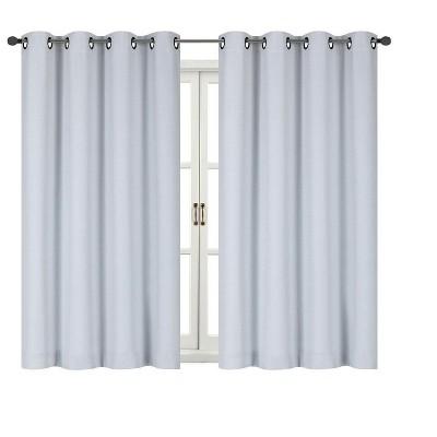 Kate Aurora 100% Thermal Blackout Bath & Kitchen Window Curtains
