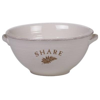 152oz Stoneware Gather Serving Bowl White - Certified International