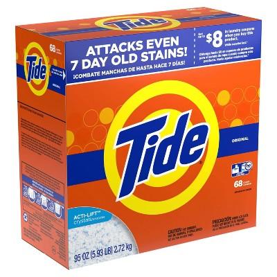 Laundry Detergent: Tide Powder
